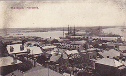 Cpa ( Glacée )-australia-newcastle--the Basin-edi Solomon - Newcastle