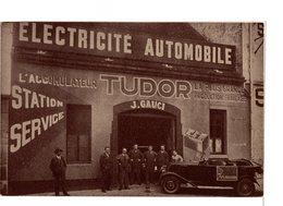 Dijon - Rue De Montigny - J. Gauci - Electricité Automobile - Accumulateur  Tudor - Dijon