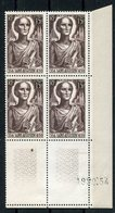 RC 14983 ALGERIE N° 318 SAINT AUGUSTIN BLOC DE 4 COIN DATÉ COTE 6,25€ NEUFS ** MNH TB - Algérie (1924-1962)