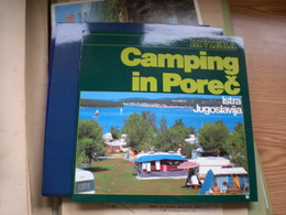 Camping In Porec Istra Jugoslavija Lanternacamp,Naturist Camping Solarid Nude Naturist Funtana, Vrsar - Dépliants Touristiques