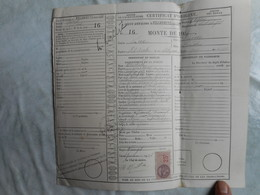 Direction Des Haras Certificat De Saillie 1936 - Documentos Antiguos