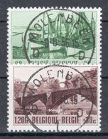 BELGIE: COB 918/919 Mooi Gestempeld. - Belgien