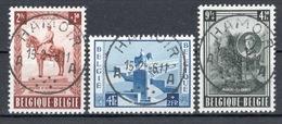 BELGIE: COB 938/940 Mooi Gestempeld. - Used Stamps