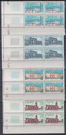 AFARS ET ISSAS N° 343/46 XX  Edifices Publics En Blocs De 4 Coin Daté, Sans Charnière, TB - Afars Et Issas (1967-1977)
