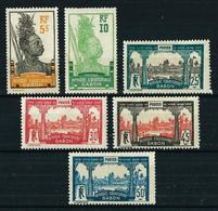 Gabón (Francés) Nº 82/7 Nuevo*/(*) Cat.10€ - Gabon (1886-1936)