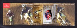 ISLANDE 2011 - CARNET Yvert C1237 - Facit H109 - Booklet - NEUF** MNH - Les Sports Motorisés, Cars - Carnets