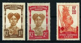 Gabón (Francés) Nº 63/4-81 Nuevo(*) Cat.11,20€ - Gabon (1886-1936)