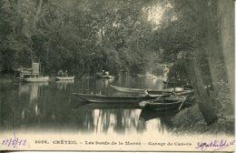 CPA - CRETEIL - BORDS DE MARNE - GARAGE DE CANOTS - Creteil