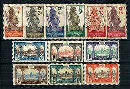 Gabón (Francés) Nº 49/54-56/9-61/2*/(*)/º Cat.19,10€ - Gabon (1886-1936)