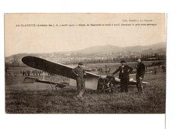 LA CLAYETTE Aviation 7-8-9 Avril 1912 Chute De Hanouille - Autres Communes