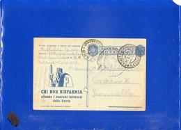 ##(DAN1912)-31-8-1943-Cartolina Postale Per Le Forze Armate Da 1° Regg.Artigl. Contraerea-Casale Monferrato Per Conzano - 1900-44 Vittorio Emanuele III