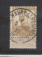 COB 113 Oblitération Centrale LE HAVRE - 1912 Pellens