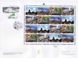 """2012 - FDC """" ANNO INTERNAZIONALE DELL' ENERGIA SOSTENIBILE PER TUTTI """" VENETIA VEDI++++ - FDC"""