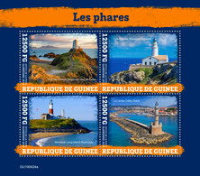 Guinea. 2019 Lighthouses. (0424a)  OFFICIAL ISSUE - Vuurtorens
