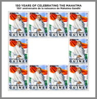GUINEA REP. 2019 MNH Mahatma Gandhi M/S - OFFICIAL ISSUE - DH1951 - Mahatma Gandhi