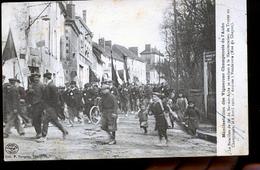 BAR SUR AUBE MANIFESTATION DES VIGNERONS ARRIVEE A VENDEUVRE - Bar-sur-Aube