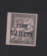 Faux, Repro Tahiti Taxe N° 18, 5 C Duval Nsg - Tahiti (1882-1915)