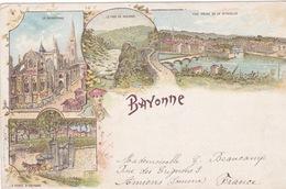 64-BAYONNE- GRUSS LITHO- MULTIVUES - Bayonne