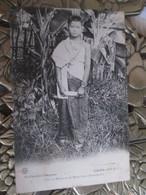 Laos . Fille De Mandarin Du Moyen Laos . Savannaket - Laos