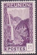 Réunion N° 125 ** Site -> Bras Des Demoiselles - 1c Violet - Réunion (1852-1975)