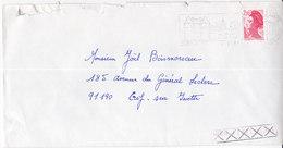 FD: Fausse Direction,  De Igny  Sur Lettre De 1988 De Guérande Pour Gif   (Tal191219/007) - 1961-....