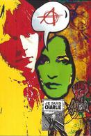 CPM Renaud Jihel Tirage Signé 30 Ex. Numérotés Signés Anarchie Baez Charlie - Artisti
