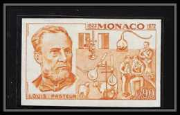 85201 N°913 Louis Pasteur 1972 Santé Médecine Health Monaco Essai Color Proof Non Dentelé Imperf ** MNH - Monaco
