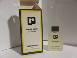 Miniature Pleine Avec Boite Paco Rabanne Eau De Sport - Non Classificati