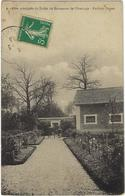 91  Foret De Senart  Allee Principale Du Jardin Du Rstaurant De L'ermitage - France