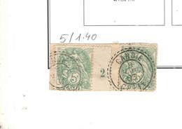 Francia Colonie Creta  1902/03 Stamps Simil French . Scott.05 See Scan On Scott.Foglio; - Usati