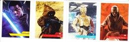 Carte Leclerc 4 Star Wars 2019 2020 N° 35 39 11 28 Maîtriser La Force - Star Wars
