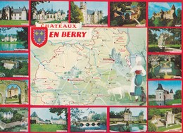 Carte 1975 CHATEAUX EN BERRY / MULTIVUES - Non Classés