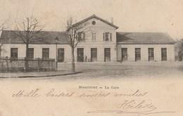 CPA 88 (Vosges) MIRECOURT / L'EXTERIEUR DE LA GARE / PRECURSEUR - Mirecourt