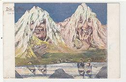 Die Mythen - Berggesichter - Sign. Hansen            (P-197-90107) - Autres Illustrateurs