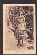 CPA Samoa Océanie Type Fille De Chef Non Circulé - Samoa