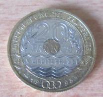 France - Monnaie 20 Francs Jeux Méditérannéens 1993 - SUP - Achat Immédiat - France