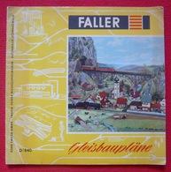 Faller D/840- Gleisbaupläne - Ohne Zuordnung