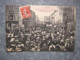 LIMOGES - CONCOURS MUSICAL 1910 - LE DEFILE DES SOCIETES - Limoges