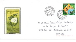 BRESIL LETTRE POUR LA FRANCE 1998 - Brazilië