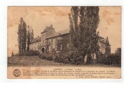 """LUMMEN - Le Château """" Le Burg""""  (kaart Vertoont Ouderdomsverschijnselen,zie Scan) - Lummen"""