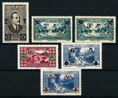 Gran Líbano (Francés) Nº 180/6**/* Cat.20,30€ - Unused Stamps