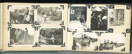 Important Album Photos 50 Pages, Environ 380 Photos Famille Du Gard, Vauvert, Grau Du Roi, Nimes, Pont Du Gard, ... - Anonyme Personen