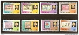 Rwanda Ruanda 1979 OCBn° 946-53 *** MNH Cote 5,50 Euro Rowland Hill - 1970-79: Neufs