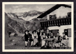 107906/ TIROL, Tiroler Bühne *Blaas-Schlegel*, Foto-karte - Österreich