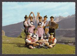 107907/ TIROL, Schuhplattlergruppe *Zirler Alpenklang* - Oostenrijk
