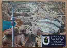 Muenchen - Blick Vom Olympiaturm - Olympia-Stadion - Olympic Games - Stadium - Olimpische Spiele 1968  - VG G3 - Muenchen