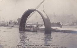 Paris - La Grande Crue De La Seine - (janvier 1910) - Un Anneau Du Tube Berlier, Système Employé Pour La Construction Du - La Crecida Del Sena De 1910