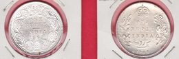 INDIA INGLESE - 1862 E 1906 - 2 MONETE DA 1 RUPIA D'ARGENTO - REGINA VITTORIA E EDOARDO VII - - Colonie