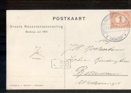 Boskoop Grootre Rozen Tentoonstelling  - 1913 - Marcofilia