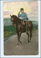 Y14588/ Kaiser Franz Josef  Zu Pferde AK Ca.1912  - Koninklijke Families